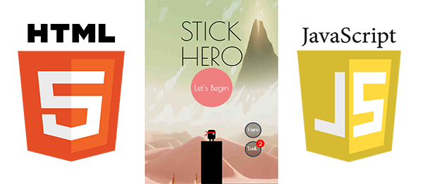 Stick Hero Game In HTML5, JavaScript With Source Code