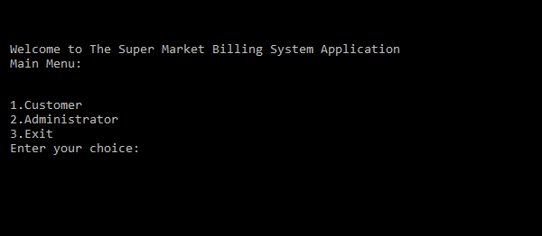 Supermarket Billing System Version 1.2 In C++ With Source Code