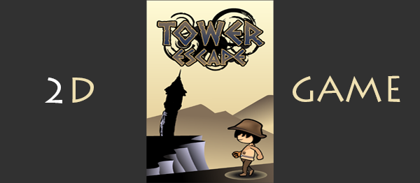 Tower Escape Game In UNITY ENGINE With Source Code
