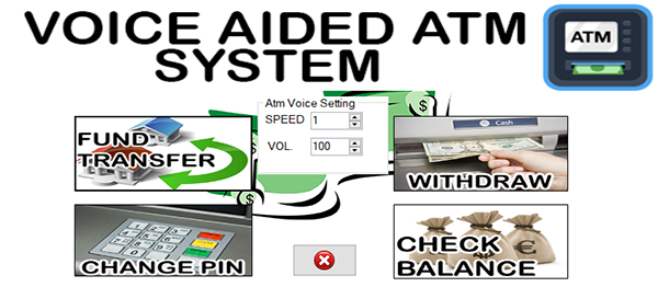 Voice Aided ATM System In VB.NET With Source Code
