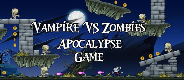 Vampire VS Zombies Apocalypse Game In UNITY ENGINE With Source Code