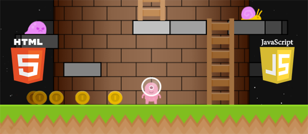 Tower Platformer Game In JavaScript with Source Code