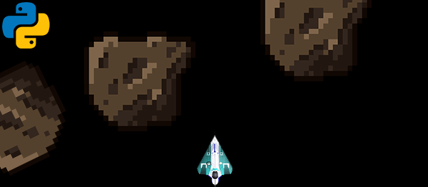 Asteroid Racer Game In PYTHON With Source Code