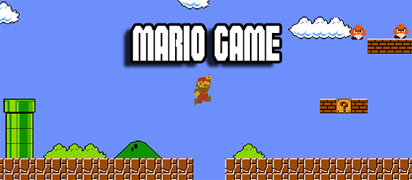 Mario Game In UNITY ENGINE With Source Code