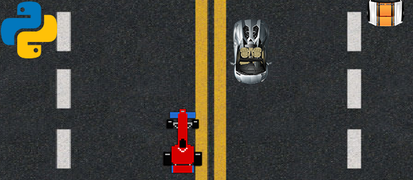 Simple Car Dodge Game In PYTHON With Source Code
