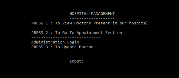 Simple Hospital Management System In C++ With Source Code