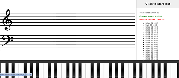 SIMPLE PIANO TRAINER IN ANGULARJS WITH SOURCE CODE