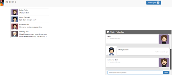 Simple Chat System In AngularJs With Source Code