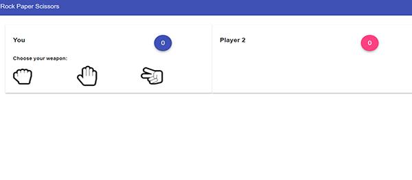 Rock Paper Scissor Game In AngularJs With Source Code