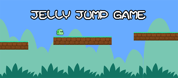 Jelly Jump Game In UNITY ENGINE With Source Code