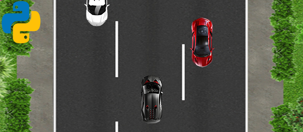 Car Dodge Game In PYTHON With Source Code