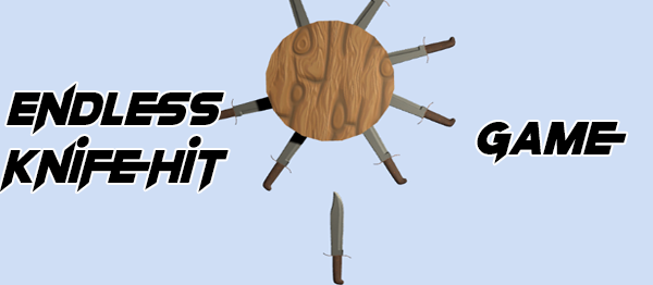 Endless Knife Hit Game In UNITY ENGINE With Source Code