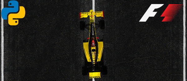 F1 Race Road Game In PYTHON With Source Code
