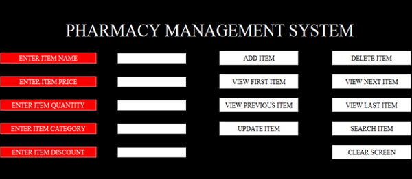 Simple Pharmacy Management System In PYTHON With Source Code