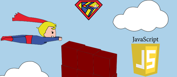 Superboy Game In JavaScript With Source Code