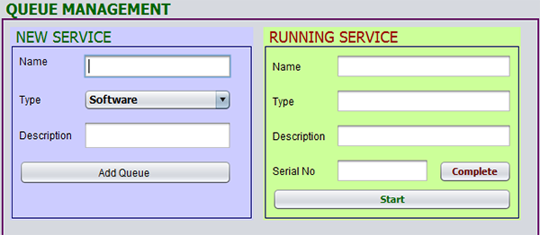 Customer Queue Management System In Java With Source Code