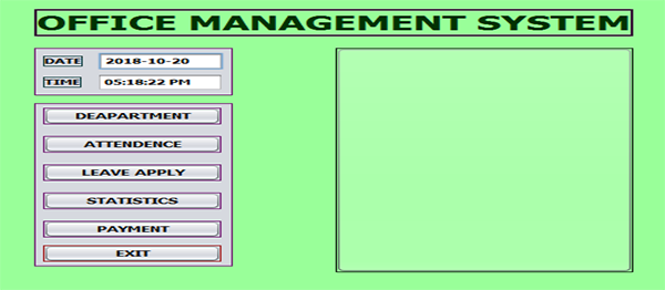 Office Management System In Java With Source Code