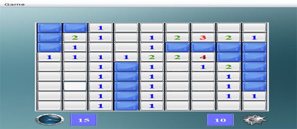 Classic Minesweeper Game In Java With Source Code
