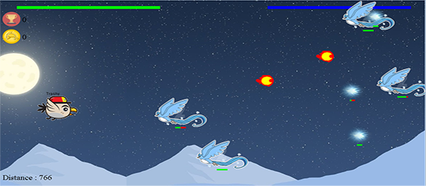 Star Birds Game In Java With Source Code