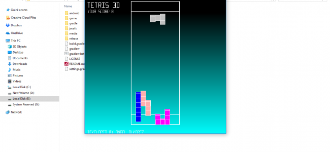 Tetris Game In Java With Source Code | Source Code & Projects