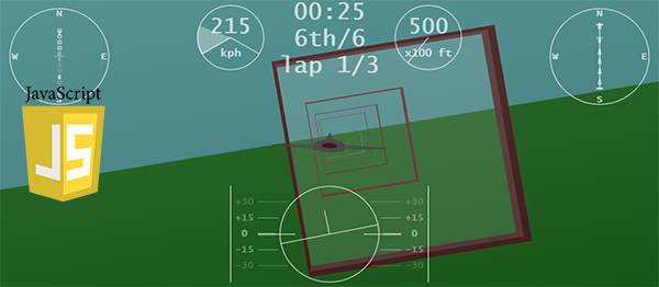 Aeroplane Race Game In JavaScript With Source Code