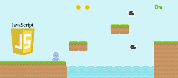 Simple Platform Game In JavaScript With Source Code