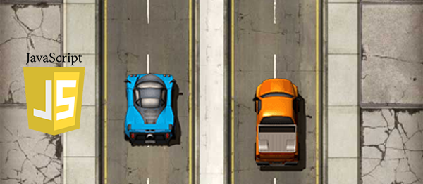 Crazy Car Racing Game In JavaScript With Source Code