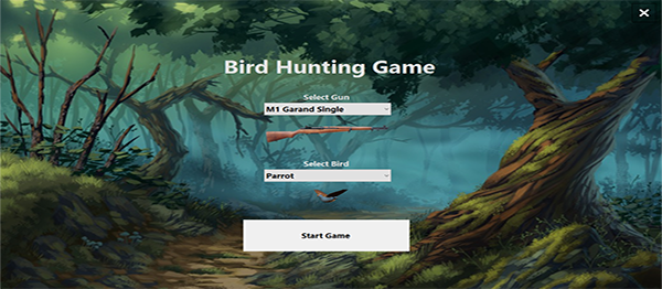 Bird Hunting Game In C# With Source Code