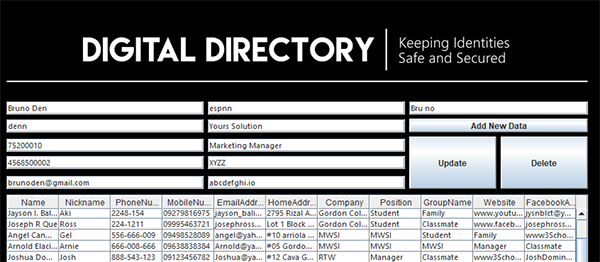 PHONE DIRECTORY SYSTEM IN JAVA WITH SOURCE CODE