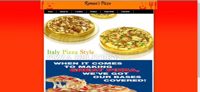Simple Pizza Ordering System In PHP With Source Code