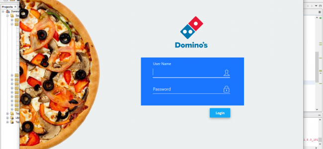 Pizza Ordering System In JavaFX With Source Code | Source