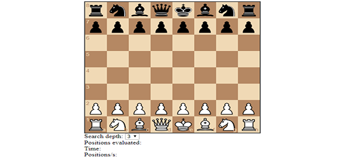 Simple AI Chess Game In JavaScript With Source Code | Source Code