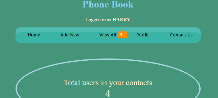 PHONE BOOK IN PHP WITH SOURCE CODE