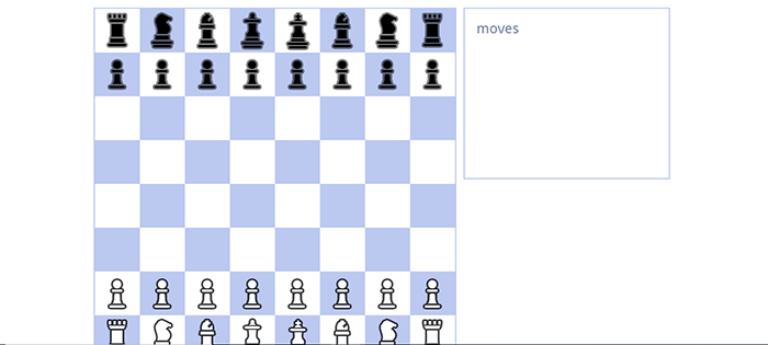 Chess Game In NodeJs
