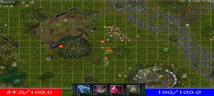 cannon defender game in java