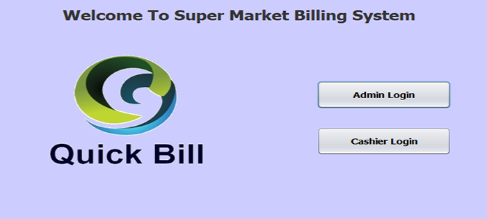 Supermarket Billing System In Java With Source Code | Source