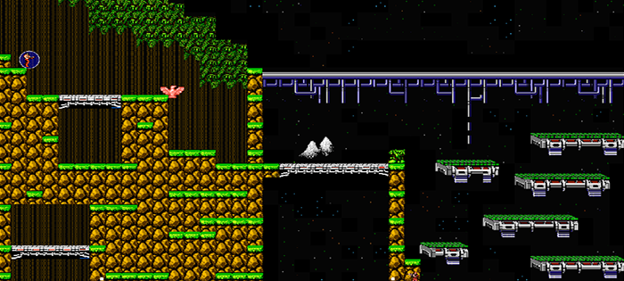 Contra Game In JavaScript