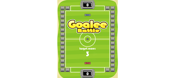 Goal Battle Game in JavaScript