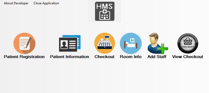 Hospital Management System in C#