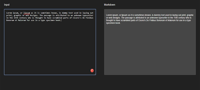 Javascript Text Editor Code