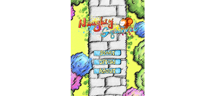 Naughty Squirrel Game in JavaScript