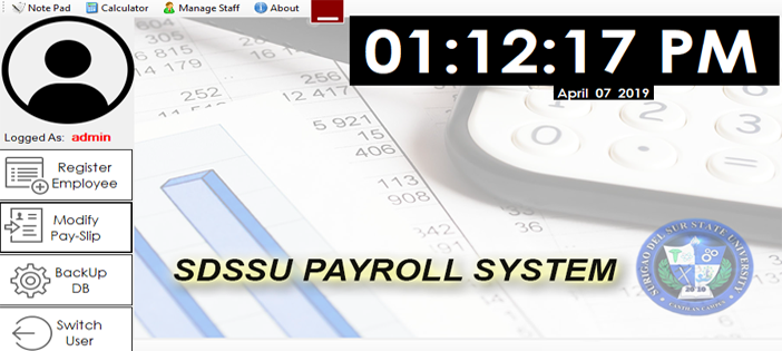 Payroll System in VB.NET
