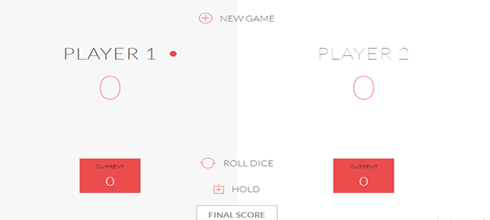 Dice Roll Game In JavaScript With Source Code | Source Code