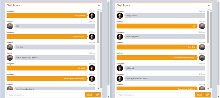 Real Time ChatRoom in NodeJS