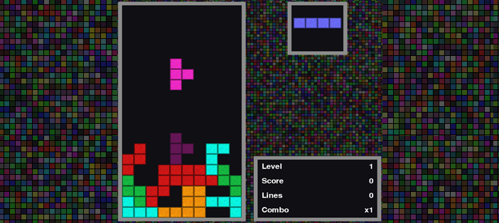Tetris Game In PYTHON With Source Code | Source Code & Projects
