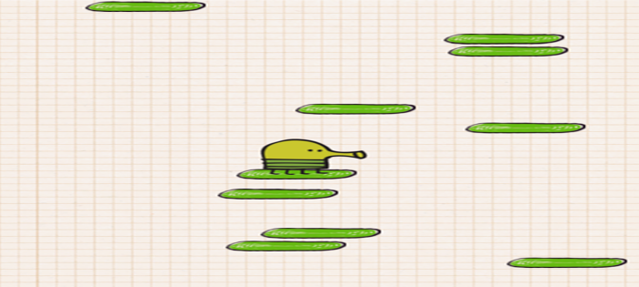 Java Doodle Jump Game