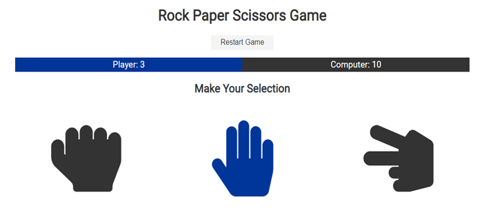 Rock Paper Scissors Game in JavaScript