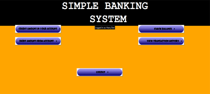 Simple Banking System in Python