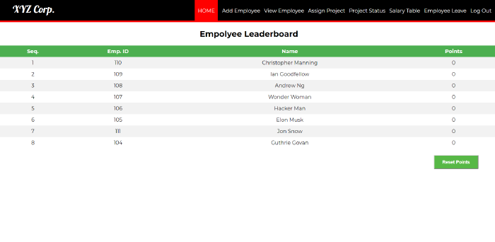 employee management system in php with source code