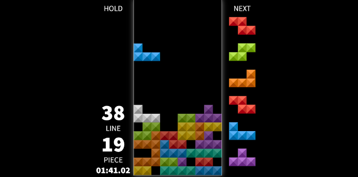 image of tetris game